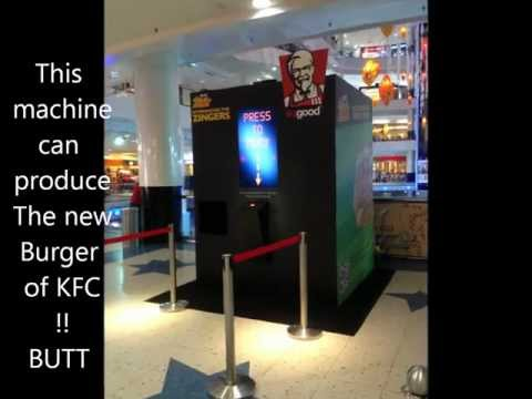 KFC machine in SUNWAY PYRAMID