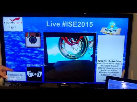 ISE 2015: NoviSign Introduces rAVe to Online Digital Signage Software