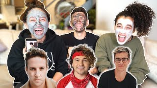 FACETUNING YOUTUBERS (ft Franny Arrieta & Nezza)