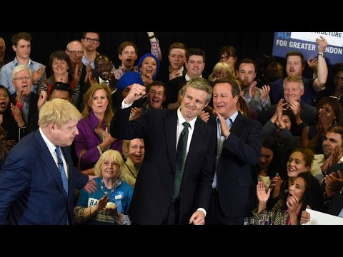 Zac Goldsmith - BackZac2016 rally with David Cameron and Boris Johnson