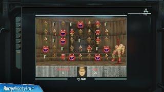 DOOM (2016) - Demon Destruction Mini Game Easter Egg (Lazarus Labs Time Well Spent Challenge)
