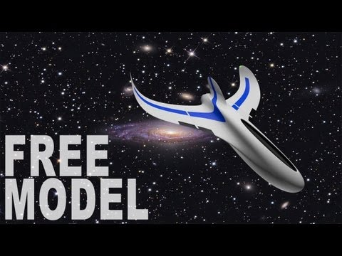 Cinema 4D – Spaceship (Free Download)
