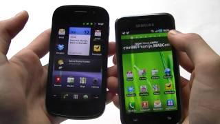 English: Samsung Galaxy S vs Google Nexus S