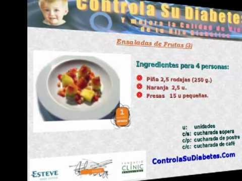 Recetas Para Diabetes Diabeticos