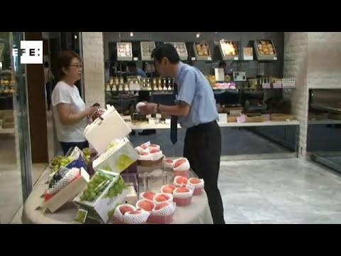 Japón y sus frutas de lujo