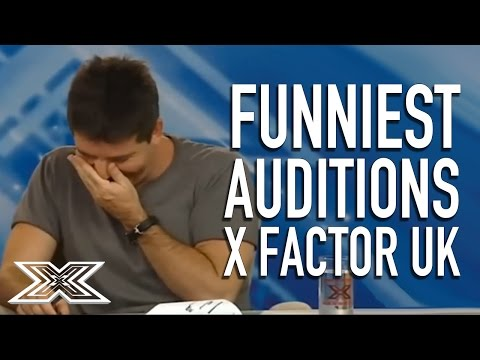 Funniest Auditions on X Factor UK  Vol1