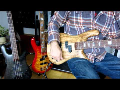 Spector Bass Pickup comparison EMG - P/J pickups