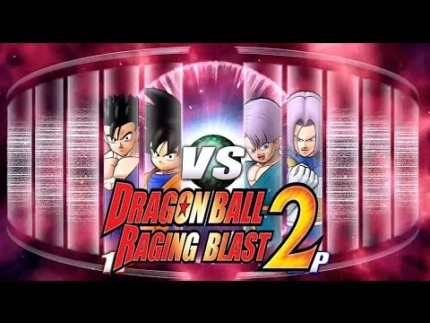 Dragon Ball Z Raging Blast 2 - Gohan & Goten Vs. Trunks & Kid Trunks (live Commentary) video