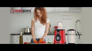 26 PCS Multipurpose Blender Herzberg HG-8008