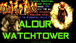 Aldur Watchtower - 10k Fireclaw Build  - Diablo 2