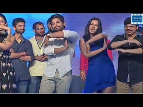 Sarrainodu Team Dance Performance @ Sarrainodu Movie Success Celebrations | TFPC thumbnail