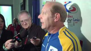 2011 Tim Hortons Brier - Bronze Medal Media Scrum