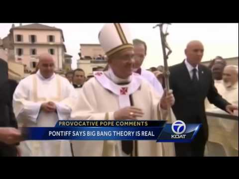 Vatican : The False Prophet declares that Evolution is real and God isn't a magician (Oct 29, 2014)