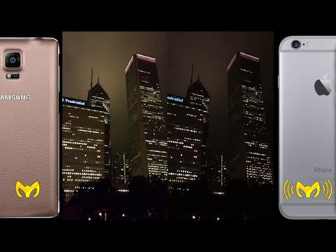 Note 4 vs iPhone 6 Plus (Camara, Video, Audio Completo)