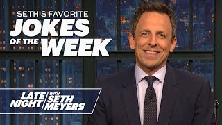 Seth's Favorite Jokes of the Week: Rudy Giuliani's Divorce, Greta Thunberg