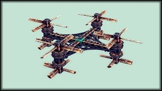 BESIEGE - BEST QUADROCOPTER