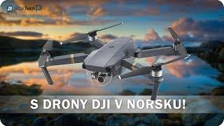 DJI Spark a DJI Mavic Pro: S drony nad Norskem! - AlzaTech #587