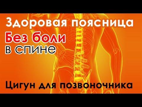 ☯ Здоровая поясница - упражнение цигун для позвоночника