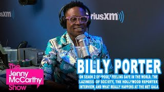 "Billy Porter on ""POSE,"" feeling safe, The Hollywood Reporter, and The Met Gala"