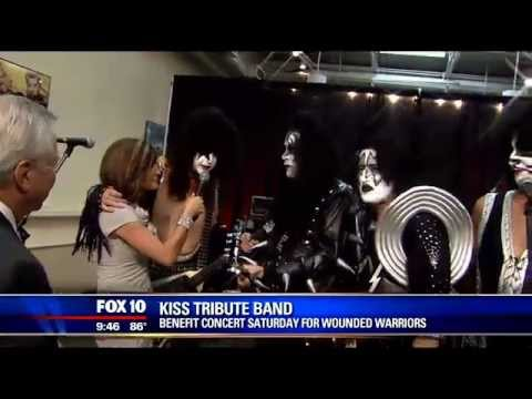 Kiss Alive - Kiss Tribute Band - Fox 10 Phoenix (May 23rd 2013)