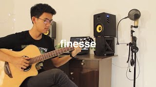 Download Lagu Bruno Mars - Finesse (Remix) ft. Cardi B (Fingerstyle Cover) Gratis STAFABAND