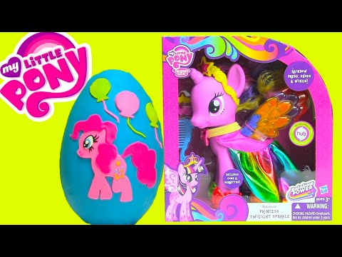 My Little Pony Surprises Pinkie Pie Surprise Egg Twilight Sparkle MLP Surprises