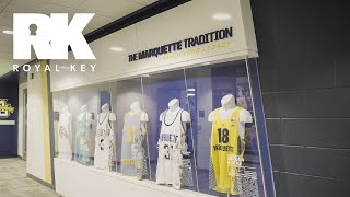We Toured the MARQUETTE GOLDEN EAGLES' AMAZING BASKETBALL Facility | Royal Key