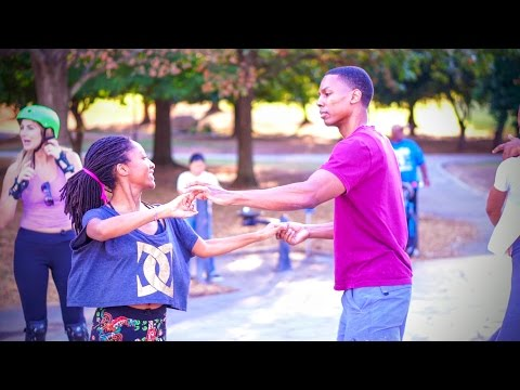 "Derek & Firefly - Improvised Zouk at Piedmont Park - ""Boy Teddy - Number One"""