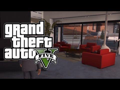 GTA 5 Online: How to Get Inside Franklin's, Michael's & Trevor's House Online! [GTA V Online]
