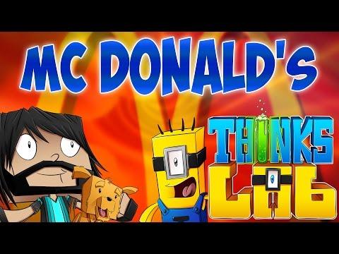 Minecraft Mods: Think's Lab - Ronald McHerobrine!