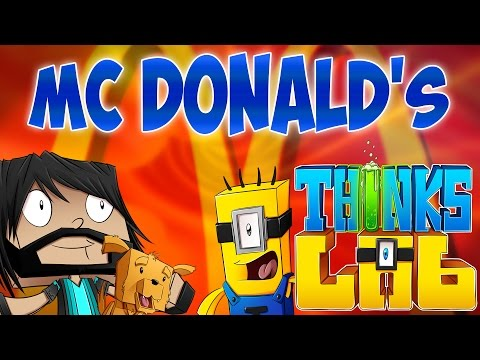 RONALD MCHEROBRINE!! | Minecraft Mods : Think's Lab [Minecraft Roleplay]