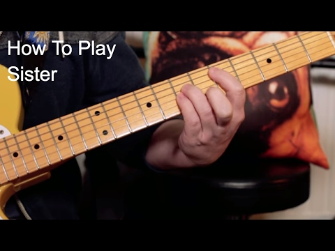 'Sister' Prince Guitar Lesson