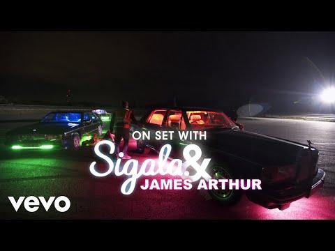 Sigala - Lasting Lover: On Set with James Arthur