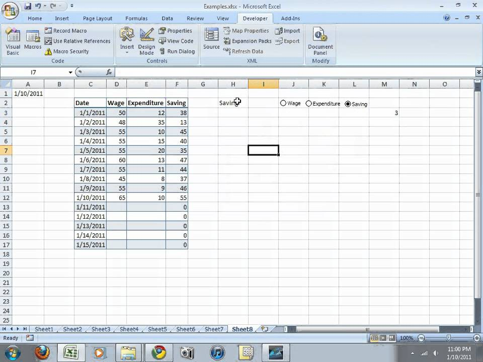 excel how to create dynamic rangewith classes