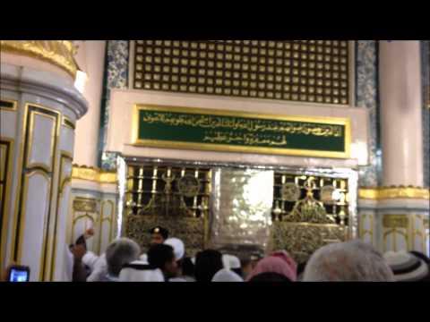 Mustafa Jane Rehmat recitation infront of Roza Mubarak - Umrah...