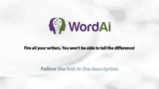 video Are you looking for an article spinner? With this tool you can generate human written looking content. Please follow the link below for further information: tinyurl.com/HumanArticleSpinner...
