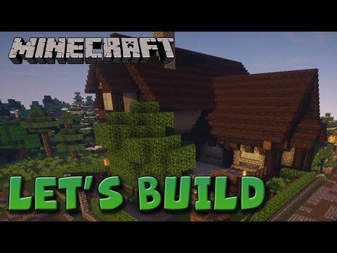 Minecraft Let's Build - Farmstead #1 video