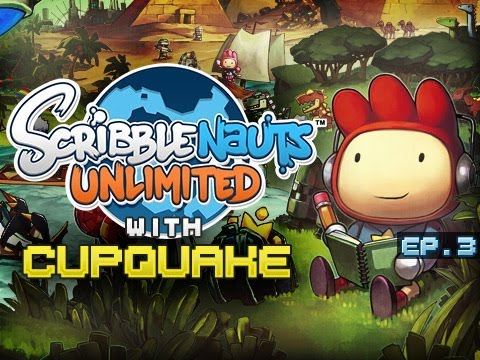 """NYAN CAT"" Scribblenauts Unlimited Ep 3"