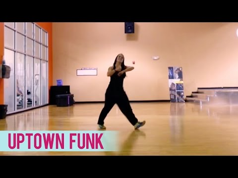 Uptown Funk (Official Dance Workout) - Dance Fitness with Jessica