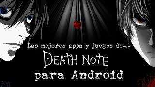 Las mejores apps y juegos de Death Note para Android