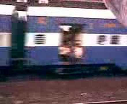 Flying Rani Double Decker train from India