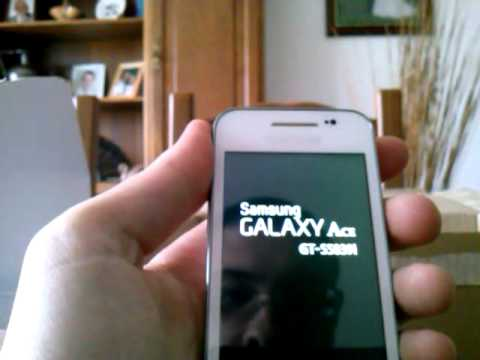 Samsung Galaxy Ace (GT-S5839i) Unboxing