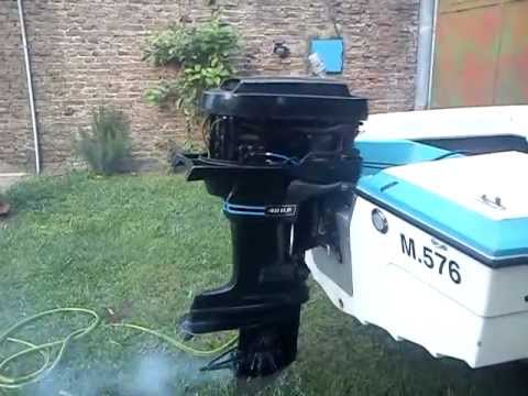 Engine Mercury 402 Motor Mercury 402 40 Hp Outboard