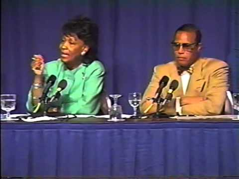 ''Minister Farrakhan At The Town Hall Meeting Of The CBC '93''