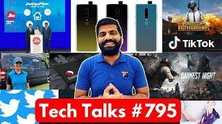 Tech Talks #795 - Xiaomi Iron, OnePlus 7, PUBG Error, TikTok Ban, Snapdragon 735, Jio Gigafiber