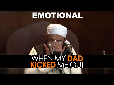 [eng] When My Dad Kicked Me Out- By Maulana Tariq Jameel video