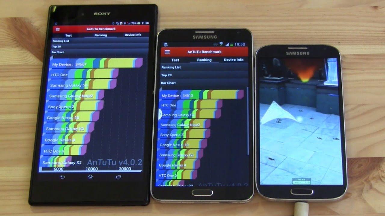 Xperia Z2 Vs Note 3 Note 3 Octa vs Sony Xperia
