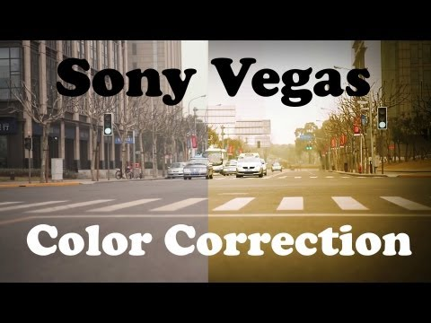 Sony Vegas Tutorial: Color Correction - Film Look