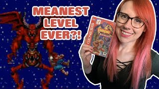 Castlevania: Bloodlines has the MEANEST Level Ever!