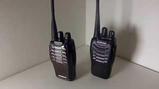 Baofeng BF-888S vs BF-A5 New Model UHF Radio Part 1